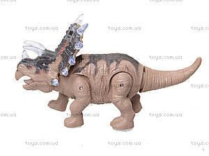 Музыкальный динозавр «Дино», NY005-B, игрушки