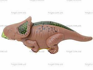 Музыкальный динозавр для малышей, 60075, игрушки