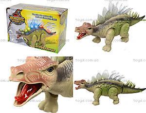 Музыкальная игрушка для детей «Динозавр», 3303