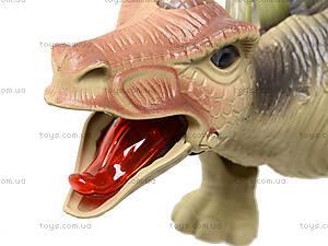 Музыкальная игрушка для детей «Динозавр», 3303, цена