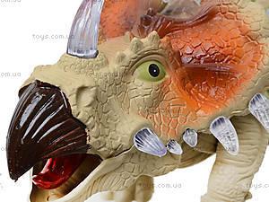 Музыкальный динозавр «Трицератопс», 3302, купить