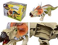 Музыкальный динозавр «Трицератопс», 3302, фото