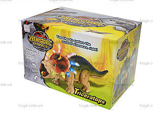 Музыкальный динозавр «Трицератопс», 3302, цена
