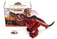 Динозавр музыкальный красный, 3319, купить