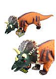 Динозавр музыкальный мягкий 40 см, 66009