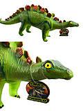 Динозавр музыкальный мягкий зеленый, 66003