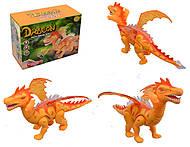 Интерактивный динозавр на батарейках, 8899, купить