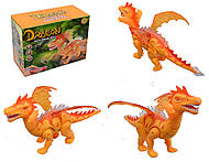 Интерактивный динозавр на батарейках, 8899, фото