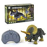 """Динозавр на радиоуправлении """"Трицератопс"""", 9988, детские игрушки"""