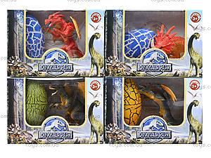 Игрушечный динозавр с яйцом «Парк Динозавров», 7705C, игрушки