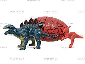 Игрушечный динозавр с яйцом «Парк Динозавров», 7705C, детские игрушки