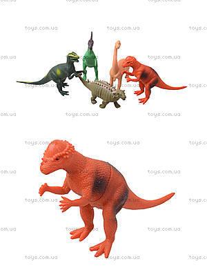 Резиновый динозавр «Гонконг», 12 видов, H386W