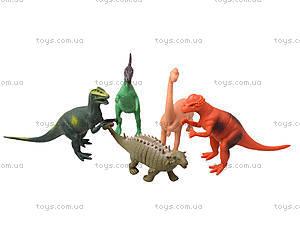 Резиновый динозавр «Гонконг», 12 видов, H386W, детские игрушки