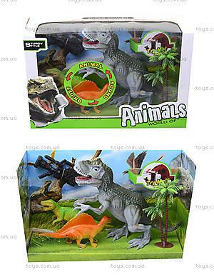 Интерактивный динозавр с аксессуарами, 800-62