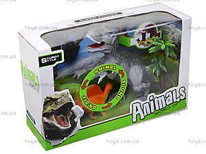 Интерактивный динозавр с аксессуарами, 800-62, отзывы