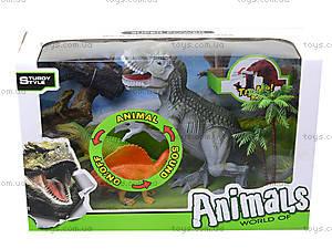Интерактивный динозавр с аксессуарами, 800-62, цена
