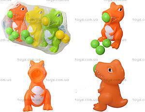 Игрушечный динозавр, стреляет шариками, WD161ABC