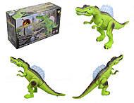 Интерактивный динозавр с эффектами, D108, купить
