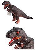 """Динозавр резиновый """"T-REX"""", 33066-8, фото"""