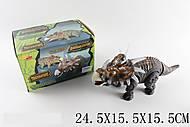 Динозавр «Трицератопс» на батарейках, 6632-1