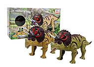 """Динозавр """"Трицератопс"""" со звуком, WS5315B, отзывы"""