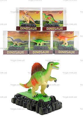 Игровая фигурка на подставке «Динозавр», TB020