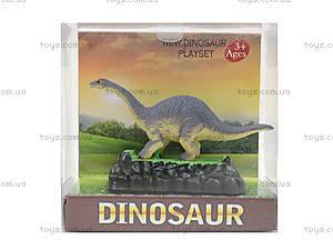 Игровая фигурка на подставке «Динозавр», TB020, детские игрушки
