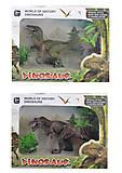 Динозавр-хищник в наборе с деревьями, 8188-7A12A18A, отзывы