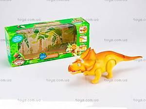 Интерактивный динозавр для малышей, XZ504