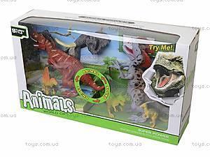 Динозавр игровой со светом и звуком, 800-72, фото