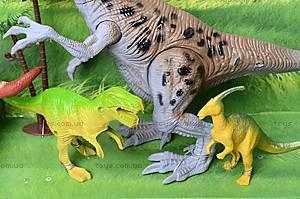 Динозавр игровой со светом и звуком, 800-72, отзывы