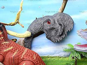 Динозавр игровой со светом и звуком, 800-72, игрушки