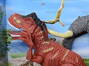 Динозавр игровой со светом и звуком, 800-72, магазин игрушек