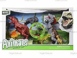 Динозавр игровой со светом и звуком, 800-72, toys.com.ua