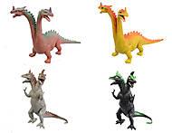 Набор игрушек динозавров в коробке, K8, фото