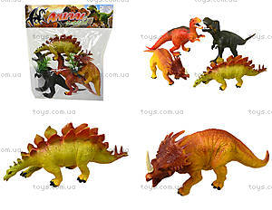 Набор игрушечных динозавров, 4 штуки, E4-A1