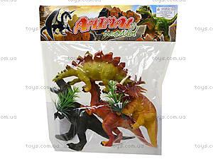 Набор игрушечных динозавров, 4 штуки, E4-A1, цена
