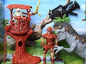 Игровой набор с аксессуарами «Динозавр», 800-58, цена