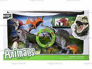 Игрушечные динозавры с аксессуарами, 800-55, отзывы