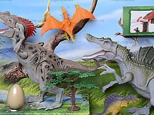 Игрушечные динозавры с аксессуарами, 800-55, цена