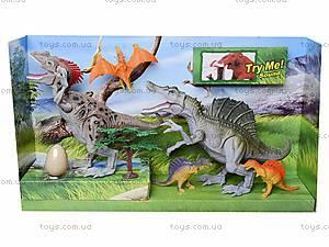Игрушечные динозавры с аксессуарами, 800-55, игрушки