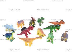 Набор игровых фигур «Динозавры», P2938-12, игрушки