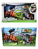 Игровой набор «Динозавры» со звуком и светом, 800-53, фото