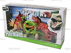 Игровой набор «Динозавры» с аксессуарами, 800-59, игрушки