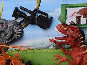 Игровой набор с аксессуарами «Эра динозавров», 800-74, купить