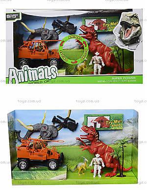 Игровой набор с аксессуарами «Эра динозавров», 800-74