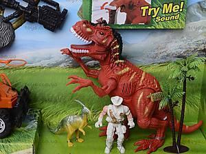 Игровой набор с аксессуарами «Эра динозавров», 800-74, игрушки
