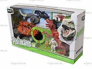 Игровой набор с аксессуарами «Эра динозавров», 800-74, детские игрушки