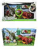 Игровой набор для детей «Динозавры» со звуком, 800-56, фото