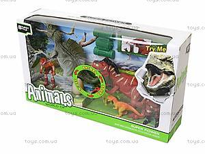 Игровой набор для детей «Динозавры» со звуком, 800-56, цена